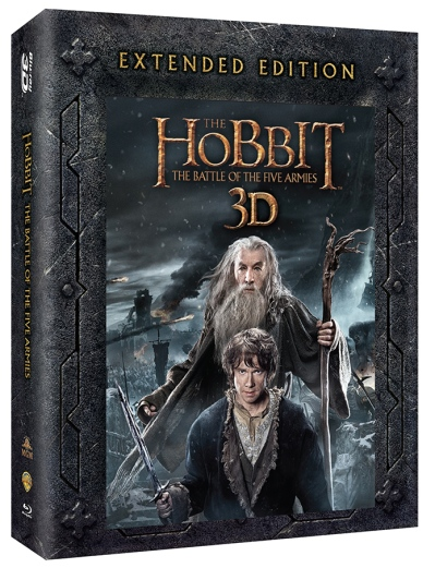 Hobbit The Battle Of The Five Armies Ext Edtn 25mm Rt Sd DVD Loa